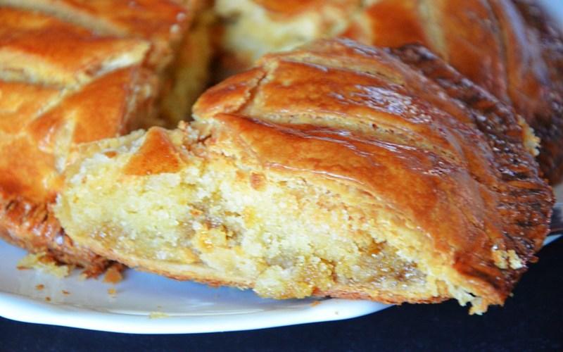 Recette galette des rois abricot et frangipane de la mamma ...