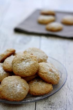 Recette amaretti, biscuits moelleux aux amandes sans gluten