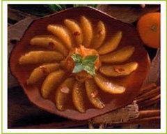 Recette salade d'oranges au miel et à la cannelle