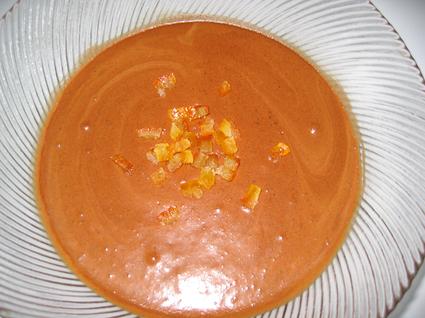Recette de mousse chocolat-café-praliné