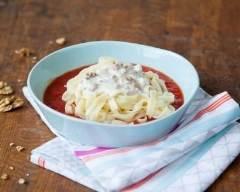 Tagliatelles au gorgonzola, aux noix et aux tomates | cuisine az