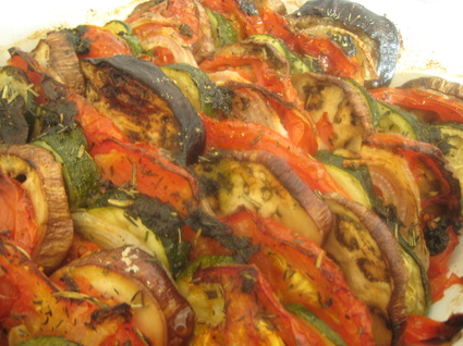 Recette de tian provençal aux légumes
