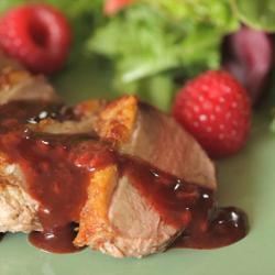 Recette magrets de canard aux framboises – toutes les recettes ...