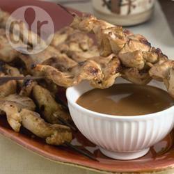 Recette poulet satay aux cacahuètes – toutes les recettes allrecipes
