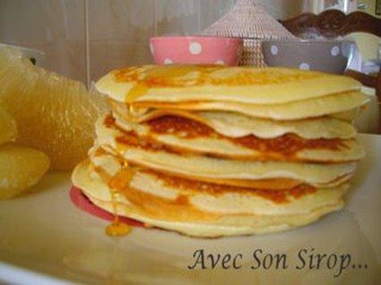 Recette de pancakes écossais