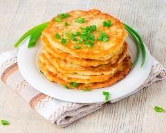 Recette pancakes aux pommes de terre
