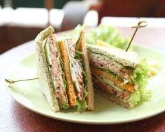 Recette club sandwich aux maquereaux