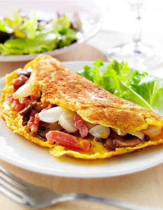 Recette de l'omelette paysanne
