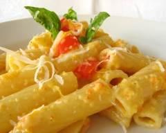 Recette pâtes à la sauce aux poivrons sans gluten