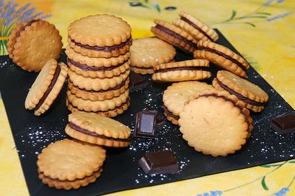 Recette de biscuits au chocolat façon prince de lu