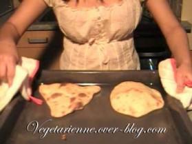 Pain indien, naan au fromage pour 4 personnes