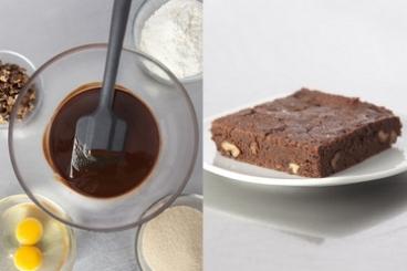 Recette de brownies aux fruits secs facile et rapide