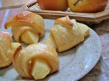 Recette de pommes feuilletées