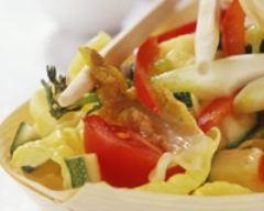 Recette wok de légumes sautés
