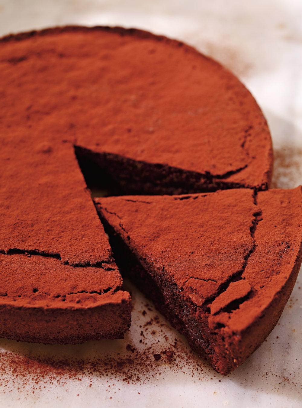 Gâteau au chocolat et aux amandes (torta caprese) | ricardo