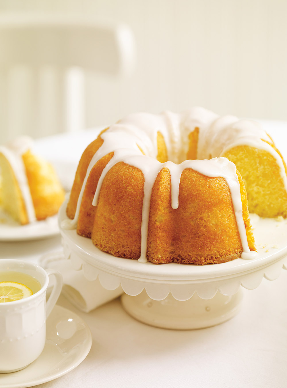 Gâteau bundt au citron | ricardo