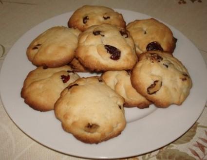 Recette de cookies aux cranberries