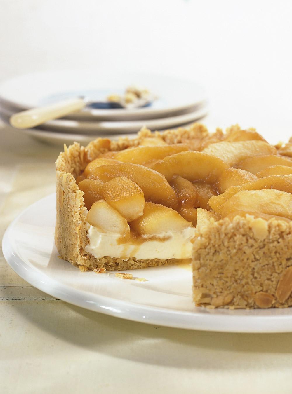 Tarte aux pommes caramélisées au calijo | ricardo
