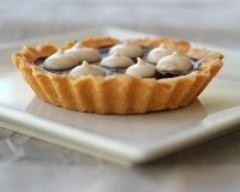 Recette tartelettes chocolat et mousse légère aux marrons