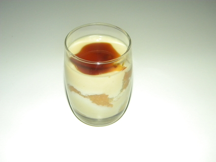 Tiramisu au caramel et beurre salé