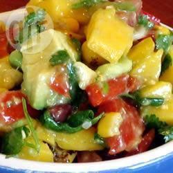 Recette salade de haricots noirs et maïs – toutes les recettes ...