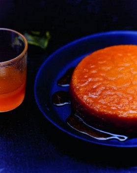 Flan potimarron-orange pour 6 personnes