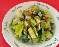Recette salade césar sans poisson
