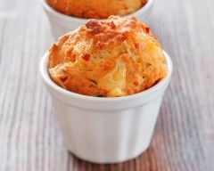 Recette muffin jambon-fromage au yaourt