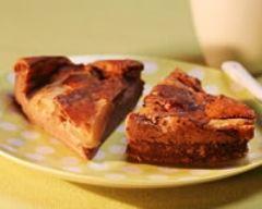 Recette pudding à la poire et au chocolat