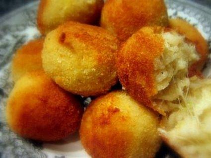 Recette arancini (croquettes de riz à la mozzarella)