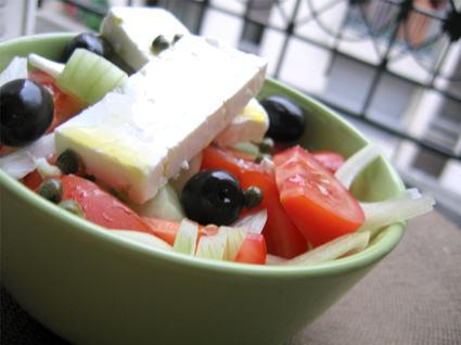 Recette de salade grecque