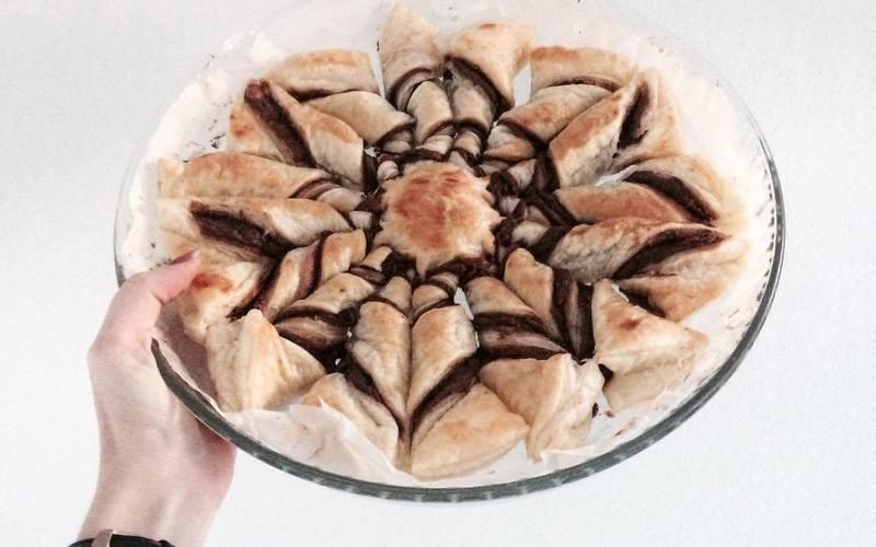 Recette etoile feuilletée au nutella pas chère et simple > cuisine ...