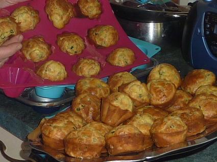 Recette de muffins au saumon et au fromage frais