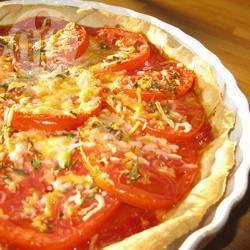 Recette tarte minute à la tomate et à la moutarde – toutes les ...