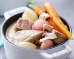 Recette blanquette de veau à la sauce blanche