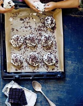 Merveilleux au chocolat noir pour 4 personnes