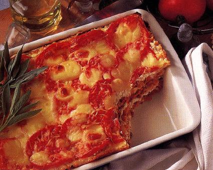 Recette de lasagnes de porc et de veau