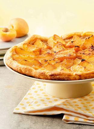 Recette de tarte fine aux abricots