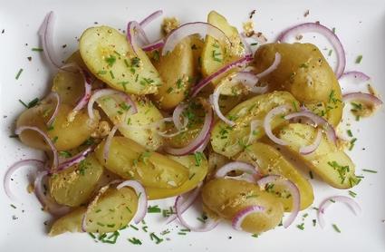 Recette de pommes grenaille en salade