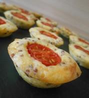 Recette de bouchées de tomates cerise et moutarde