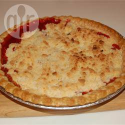 Recette tarte à la rhubarbe façon crumble – toutes les recettes ...