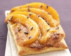 Recette tarte fine feuilletée de melon du quercy igp au miel de ...