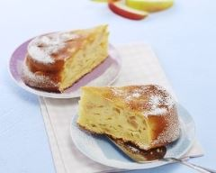 Recette gâteau aux pommes fondant