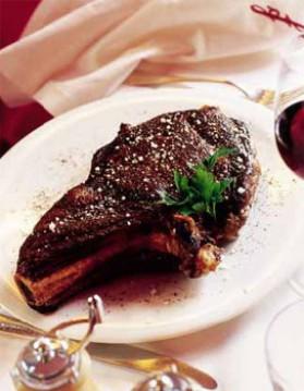 Côte de bœuf façon depardieu pour 4 personnes