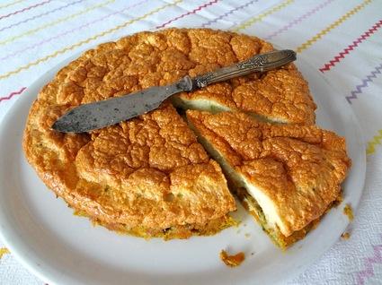 Recette omelette soufflée aux petits légumes exotiques