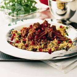 Recette couscous d'agneau à l'iranienne – toutes les recettes ...