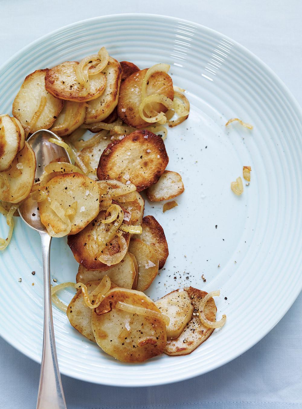 Pommes de terre à la lyonnaise | ricardo
