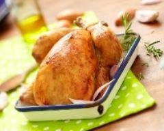 Recette tendre poulet rôti