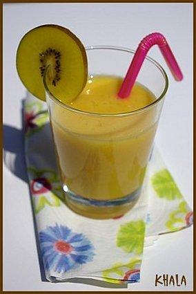 Recette de smoothie passion ananas