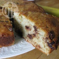 Recette cake à la banane et aux pépites de chocolat – toutes les ...